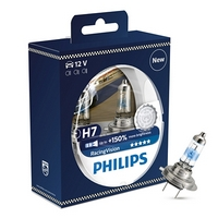 Žárovky H7 Philips Racing Vision +150% (DUO BOX 2 ks)