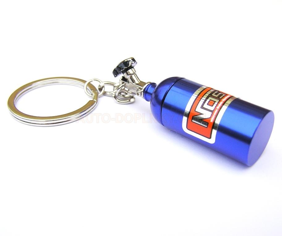 Přívěsek na klíče - klíčenka NOS láhev - KC-0053 auto-doplnky.com 6101ad23728