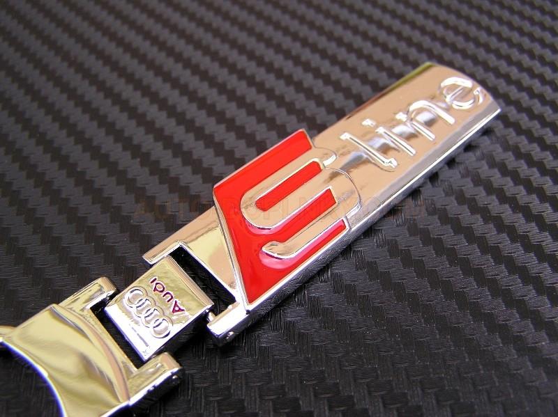 prev. next. Klíčenka - přívěšek Audi s logem S line - chromovaný. prev.  next. Luxusní přívěšek na klíče Audi s logem S line a0cb2e216b7