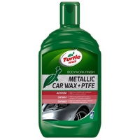 Autovosk na metalické laky Turtle Wax Metallic Car Wax + PTFE (500 ml)