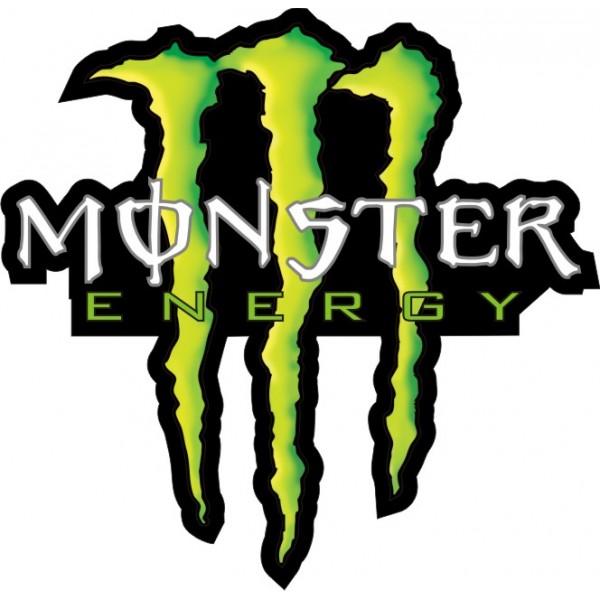 Samolepka N 225 Lepka Monster Energy 110 X 95 Mm Auto