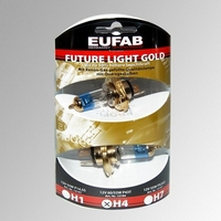 Žárovky H4 Eufab Future Light Gold Plus (2 ks)